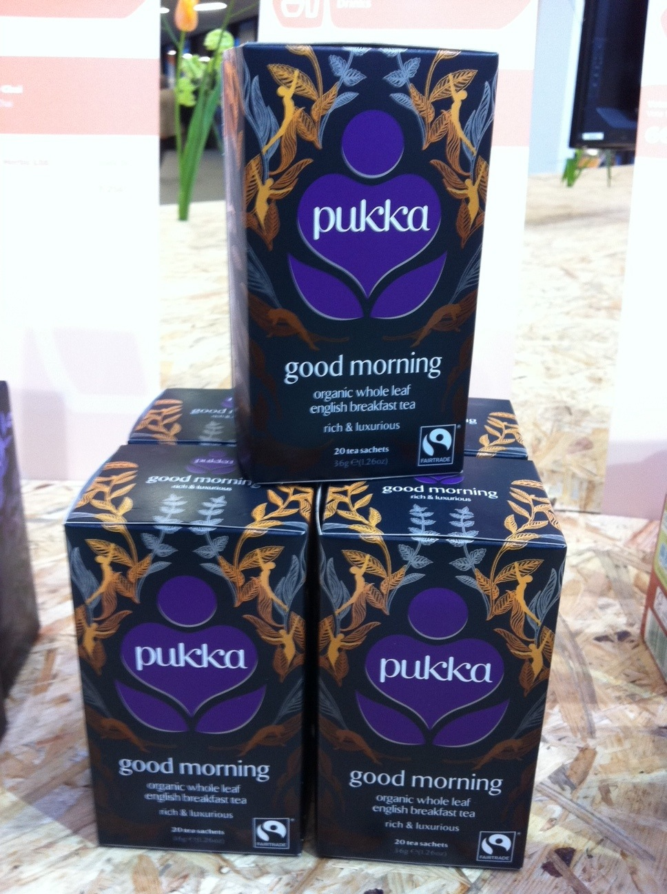 "Pukka Tee ""Good Morning"""