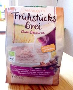 Allos Chai Frühstücksbrei in der 400g Packung