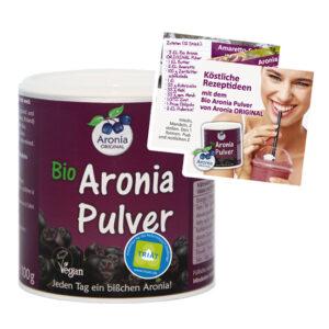 Das neue Aronia Pulver steckt voller Vitamine und Antioxidantien