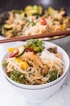Sieht das nicht lecker aus? kajnok-Nudeln mit leckerem Tofu