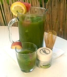 Matcha Limonade Rezept von Gesund-Sein.de
