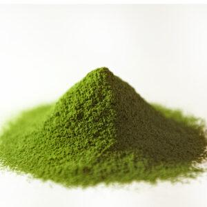 grünes Pulver