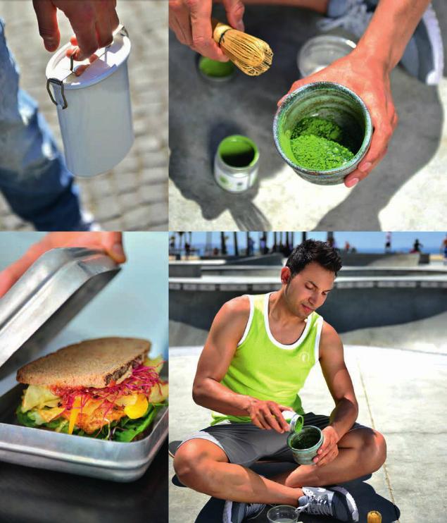 Venice Beach vegane Imagebilder