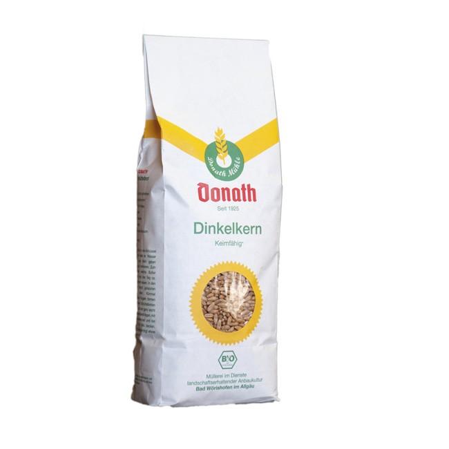 Donath Dinkelkerne ganz 1kg - für frisches Mehl und Flocken