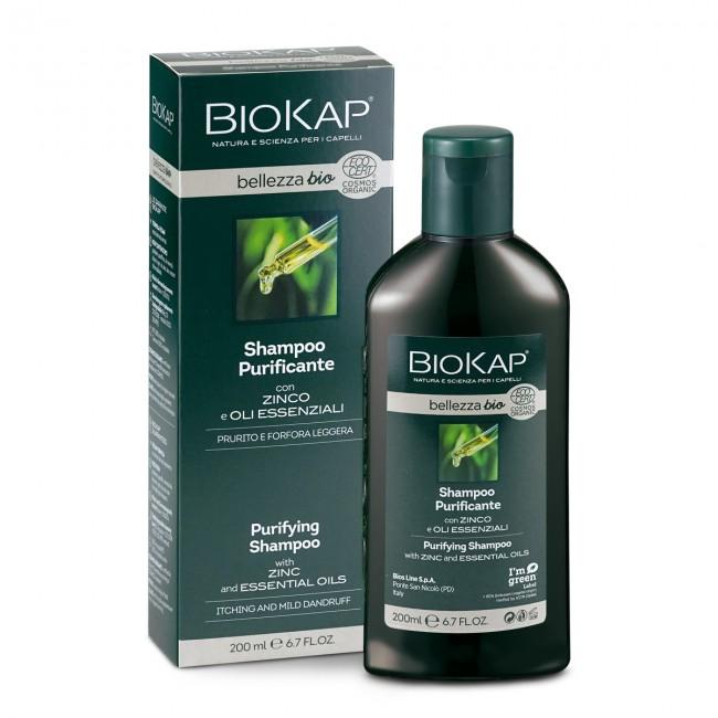 BioKap : Reinigendes Shampoo bei juckender Kopfhaut(200ml)