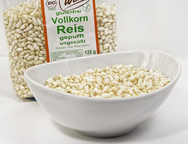 Gepoppter Reis von Werz - die top Ergänzung für Ihr Müsli!