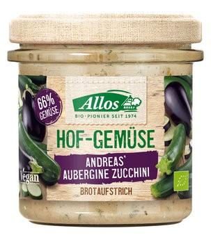 Allos : Hofgemüse Andreas' Aubergine Zucchini, bio (135g)