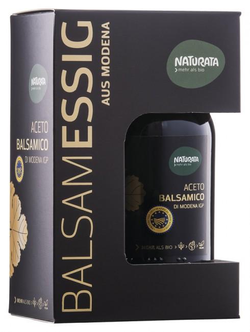 Naturata : Aceto Balsamico di Modena IGP, PREMIUM Geschenkbox (250ml)