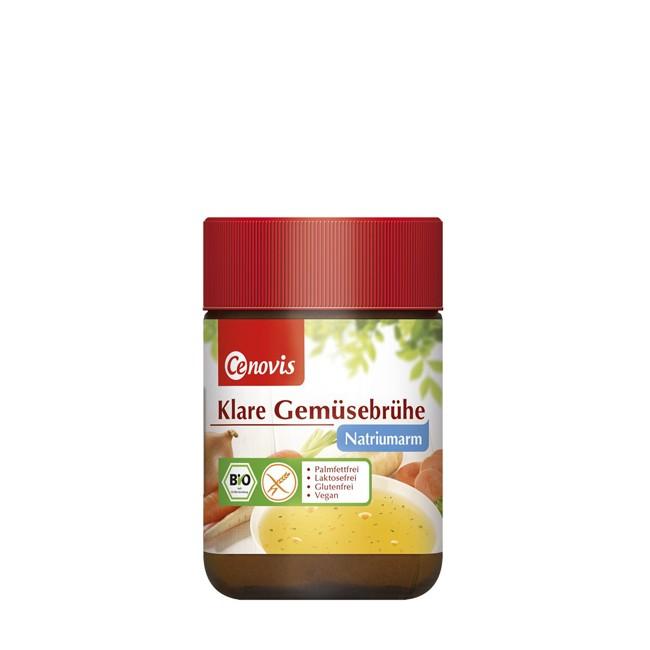 Cenovis Klare Bio Gemüsebrühe, natriumarm 96g