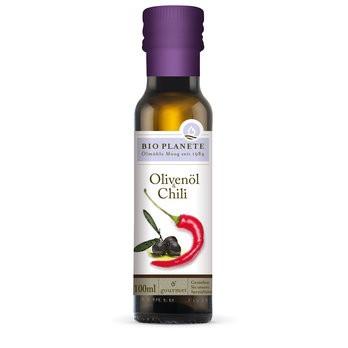 Bio Planète : Olivenöl & Chili, bio (100ml)