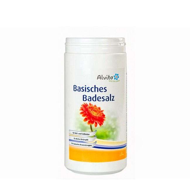 Alvito Basisches Badesalz 1,5 kg