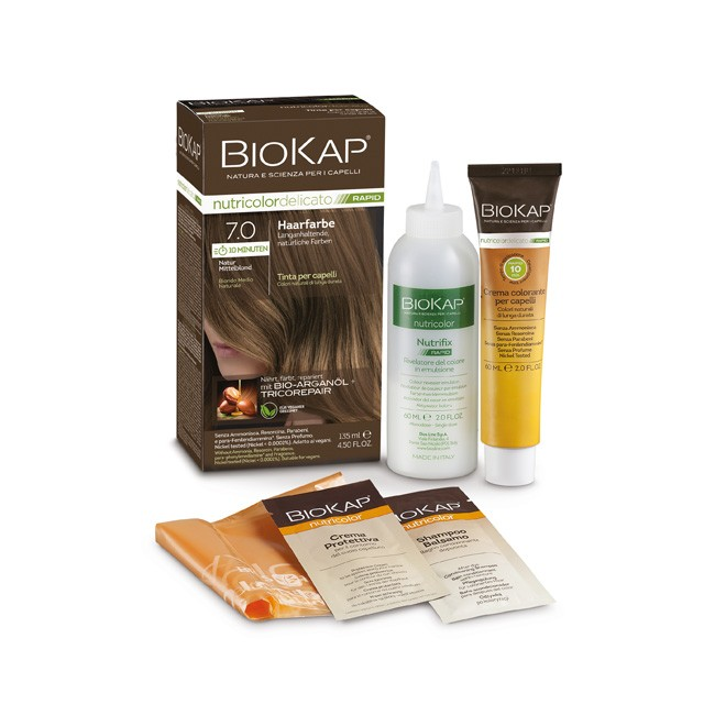 BioKap Nutricolor Rapid 10 Min 7.0 Natur Mittelblond