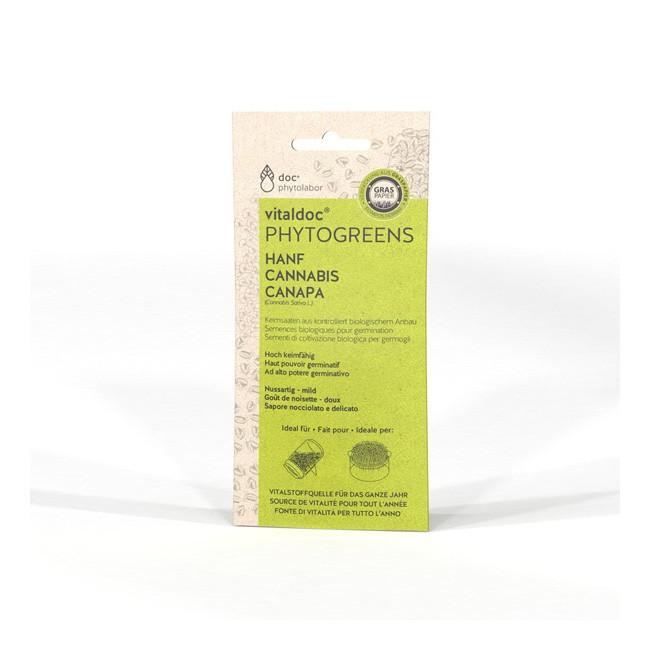 Vitaldoc Phytogreens BIO Hanf Cannabis Sativa L. (50g)