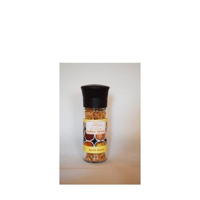 NaturHurtig : Bio-Gewürzsalz Garlic Onion in Mühle (75g)