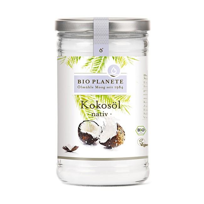 Natives Kokosöl 1l Glas von Bio Planète