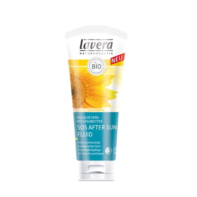Lavera Bio SOS After Sun Sonnen Fluid 100ml mit Menthol und Bio-Aloe Vera
