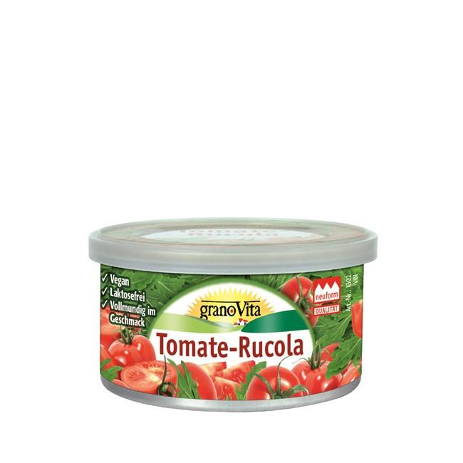 granoVita Tomate-Rucola reinpflanzlich als Dip geeignete bio Pastete 125g