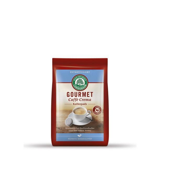 Lebensbaum Kaffeepads für entkoffeinierten Caffè Crema, 18 Portionen