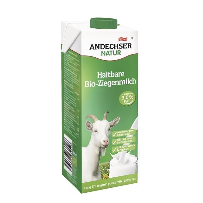 Andechser Natur: Ziegenmilch (1l) mit 3,0% Fett