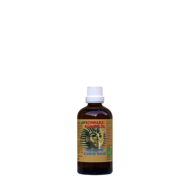 Das Bio Schwarzkümmelöl von NaturGut in der 50ml Flasche