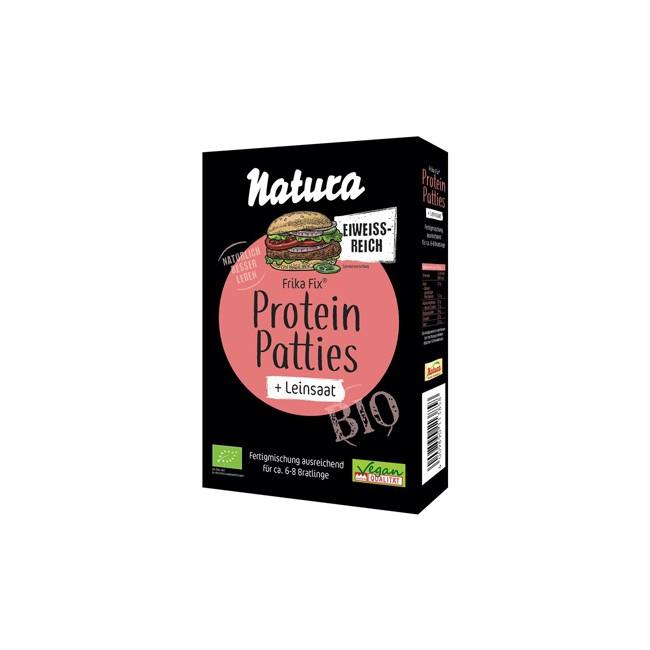 Natura Frika Fix Protein Patties Leinsaat, bio (150g)
