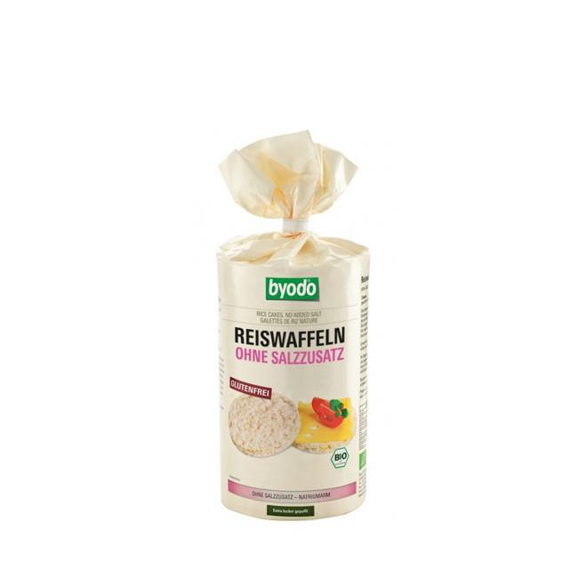 Bio Reiswaffeln, ohne Salzzusatz!
