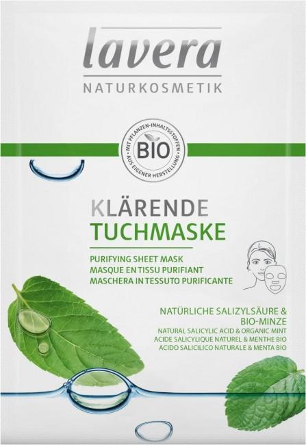Lavera : Klärende Tuchmaske (10ml)