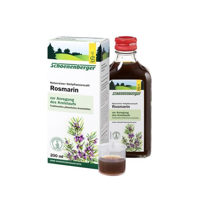 Schoenenberger Bio Heilplfanzensaft aus Rosmarin für das Herzkreislaufsystem 200ml