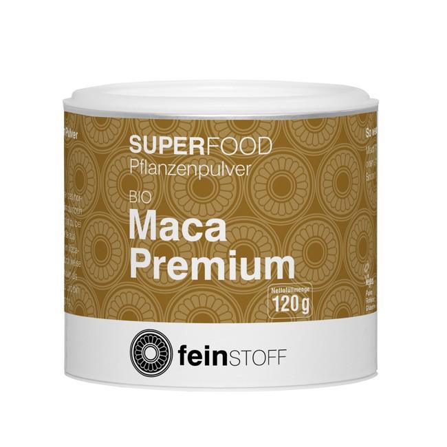 Feinstoff Bio Premium Maca-Pulver 120g