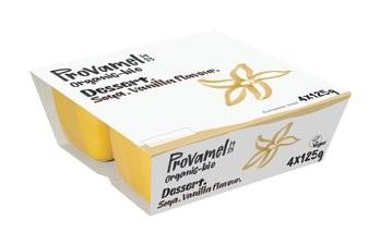 Provamel Soja Dessert Vanille, bio 4x125g