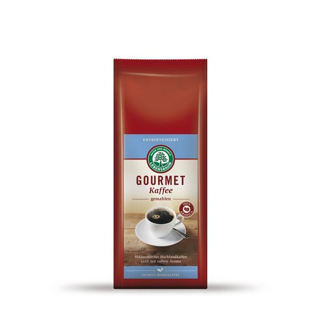 Lebensbaum Gourmet Kaffee ohne Koffein - Bio Qualität