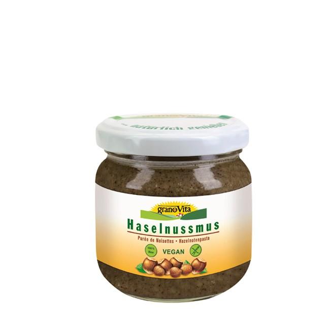 veganes-haselnussmus-granovita-175g mit vielen Mineralstoffen