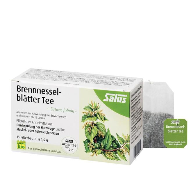 Brennnessel Blätter-Tee von Salus in Bio Qualität - Arzneitee