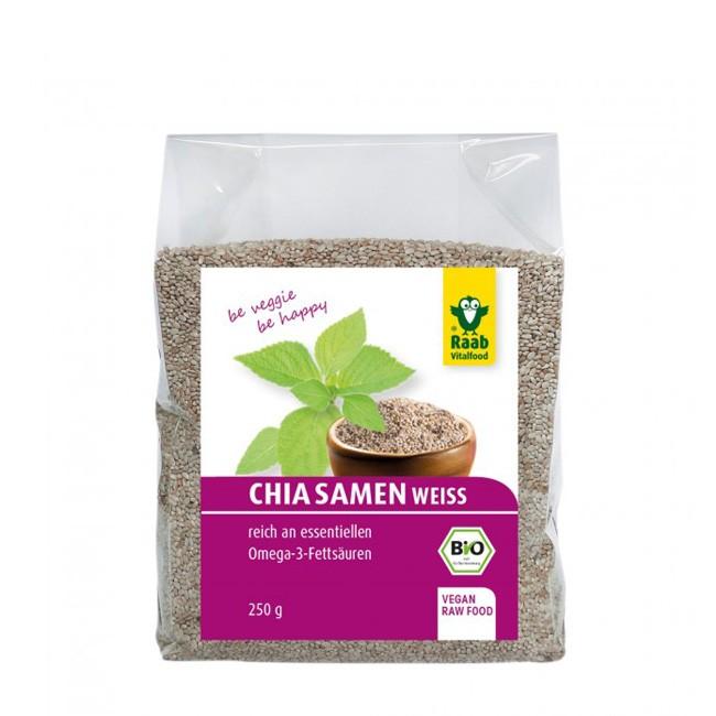 Weiße Bio Chia-Samen von Raab 250g