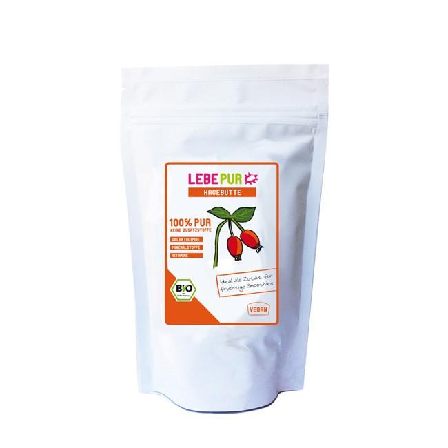 LebePur Hagebutte 150g Beutel bio Vegan für Smoothies