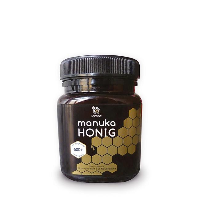 Aktiver Manuka-Honig 600+ im 250g-Glas