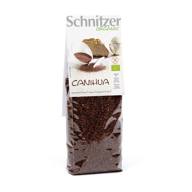 Schnitzers Wunder-Korn Canihua aus Bolivien vieleseitig verwendbar in Suppen, Breie, Backen uvm.