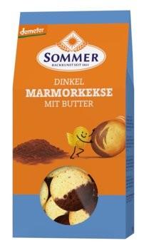Sommer : Dinkel Marmorkekse, demeter (150g)