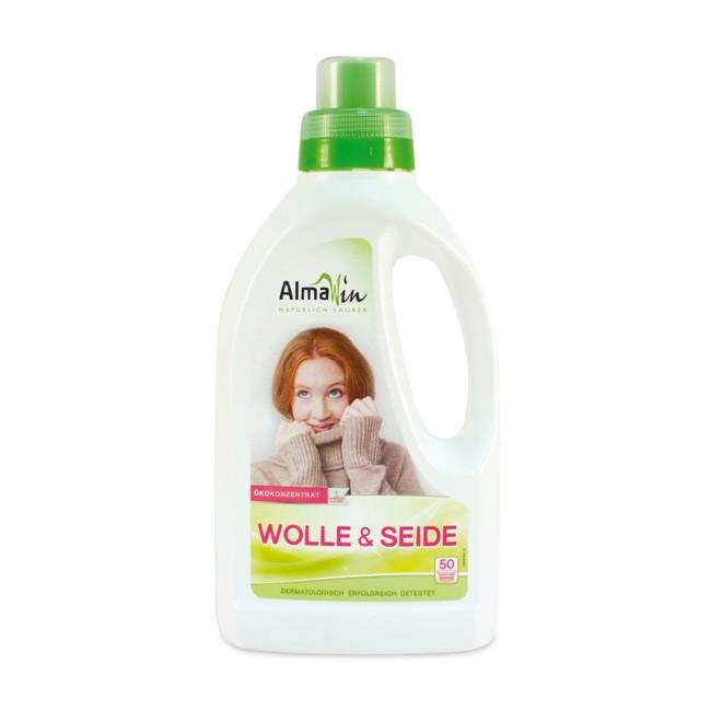 AlmaWin Wolle und Seide Wollwaschmittel 0,75l Flüssig
