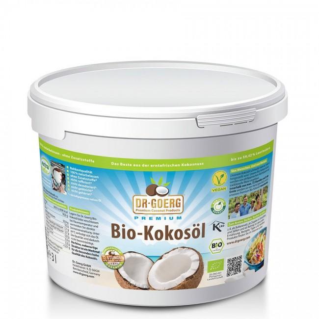 Dr. Georg Premium Bio Kokosöl (3l) Vegan