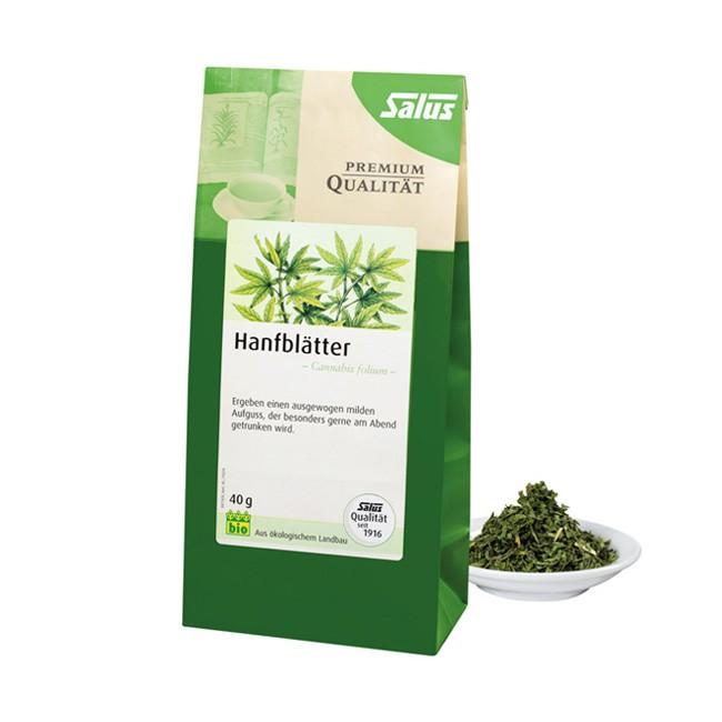 Salus Hanfblätter Tee lose (40g) vegan