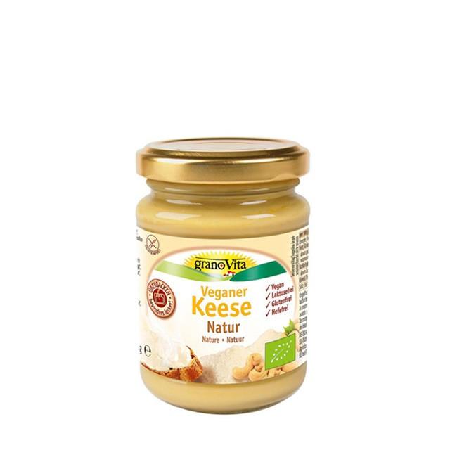 granoVita Veganer Keese Käse NaturLactosefreie, glutenfreie, hefefreie und glutenfreie Alternative