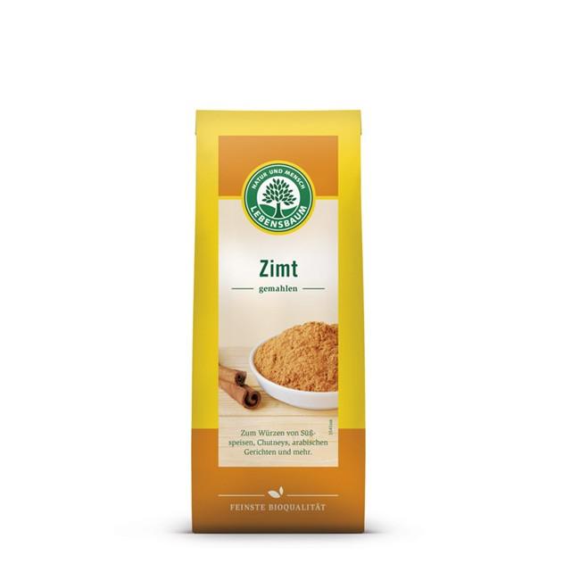 Zimt (ceylon/cassia Mischung) gemahlen von Lebensbaum - aus BIO Landwirtschaft