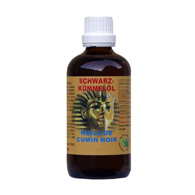 Das würzige Schwarzkümmelöl in der 1l-Flasche