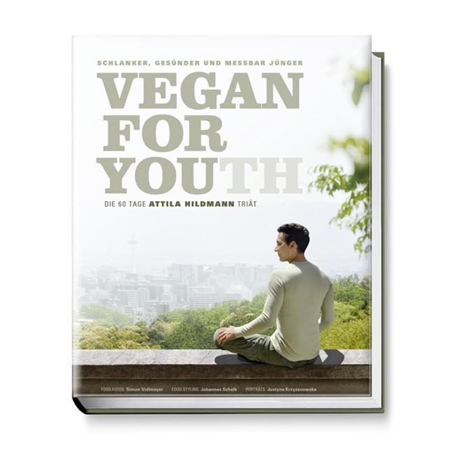 Attila Hildmann Vegan for Youth Buch mit 264 Seiten