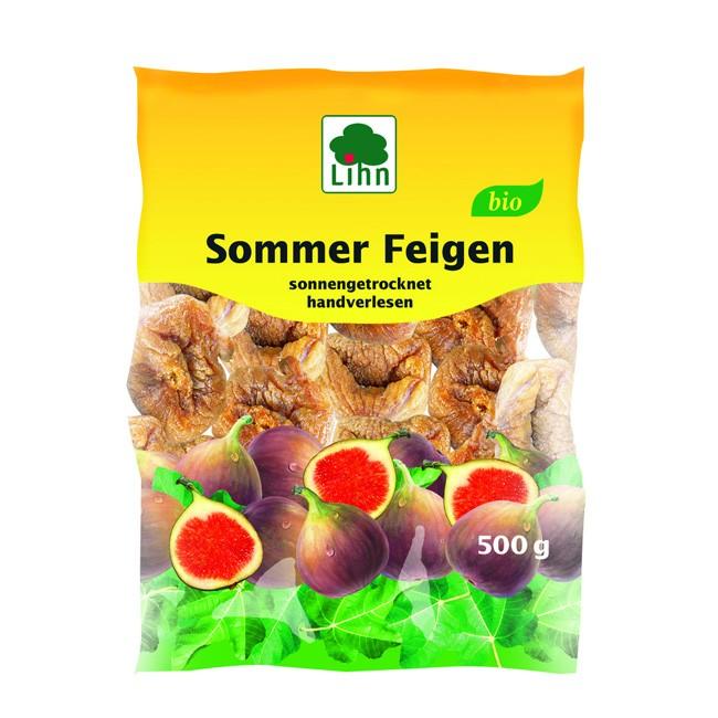 Lihn HOLO Sommer Feigen, sonnengetrocknet und handverlesen, bio 500g