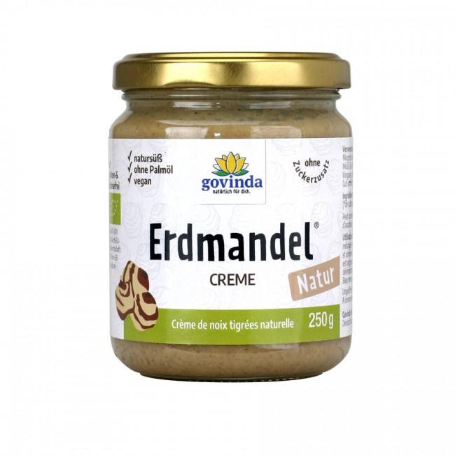 Bio Erdmandel Creme - nussfreier Brotaufstrich von Govinda (250g Glas)