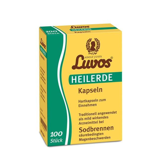 LUVOS Heilerde Kapseln (100% Löß) 100 Stück Packung