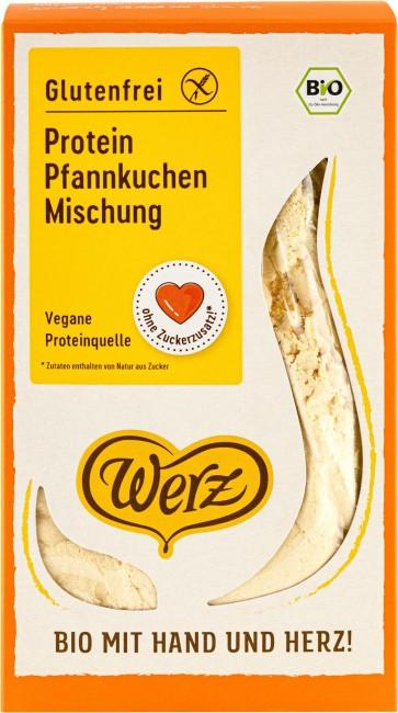 Werz : Glutenfreie Protein Pfannkuchenmischung, bio (250g)