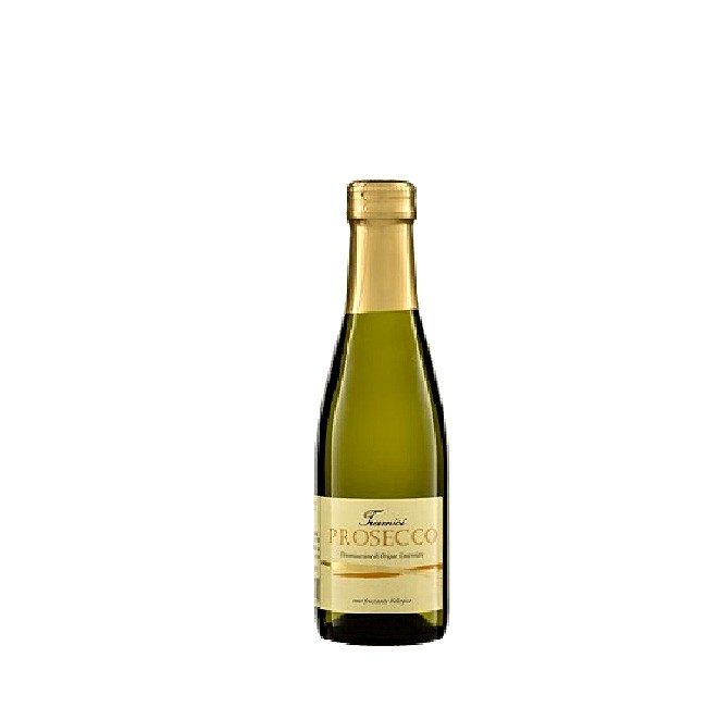 Bio Prosecco Veneto in der 200ml Flasche - halbtrocken und prickelnd